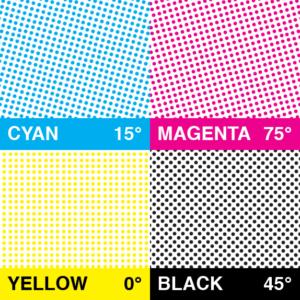 Formas de representar el color sobre papel impreso